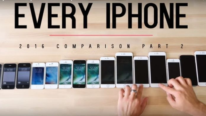iphones comparativa
