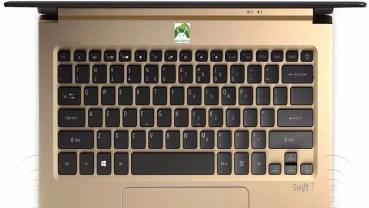 Acer Swift 7: el portátil más delgado del mundo