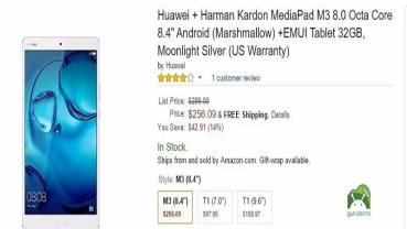 Huawei Media Pad 3  super Oferta en Amazon.com