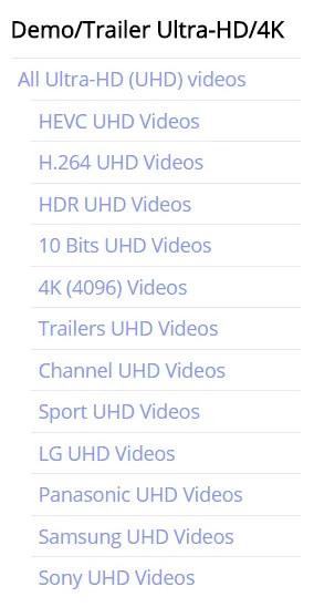 contenidos en 4k