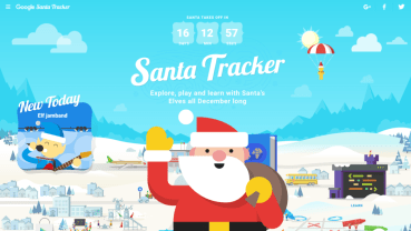 Vuela con Papá Noel y baila con los elfos en su aldea