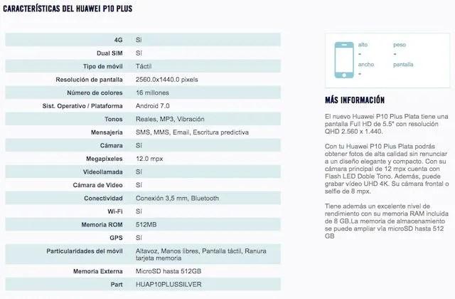 Huawei-p10-plus-especificaciones