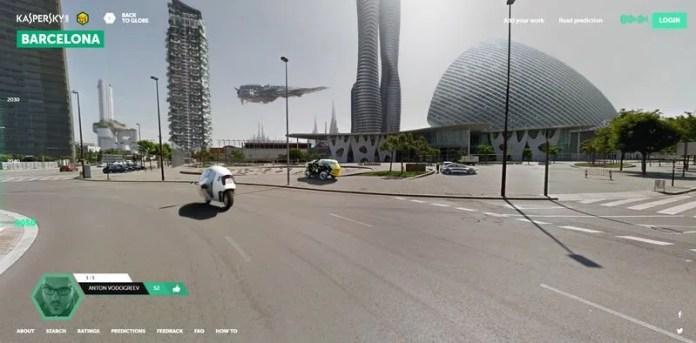 earth 2050 barcelona