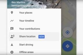 Conoce en tiempo real donde están tus amigos con Google Maps