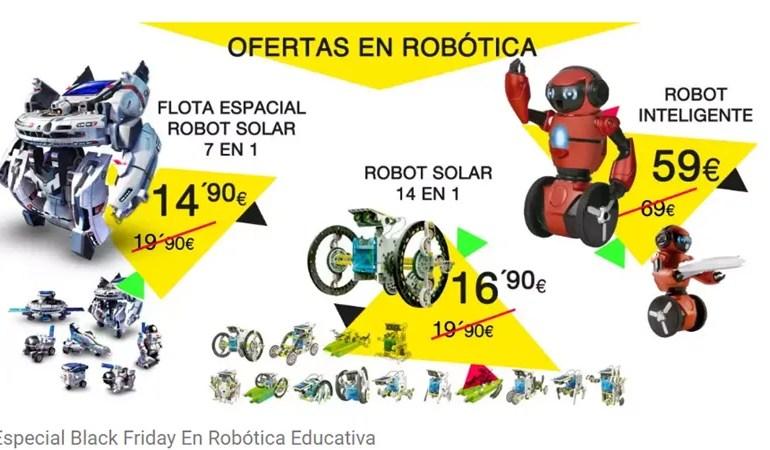 Viernes de oferta especial con la robótica en Tublackfriday.com