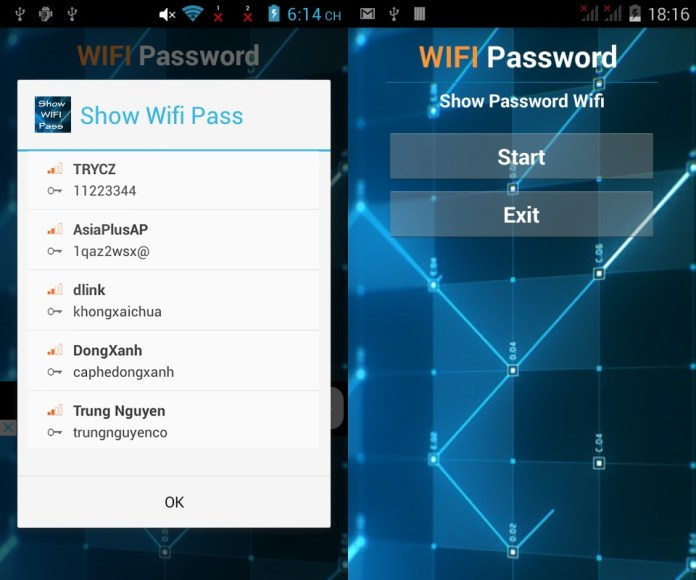 Show Wifi Password 2016 - Root aplicaciones espia