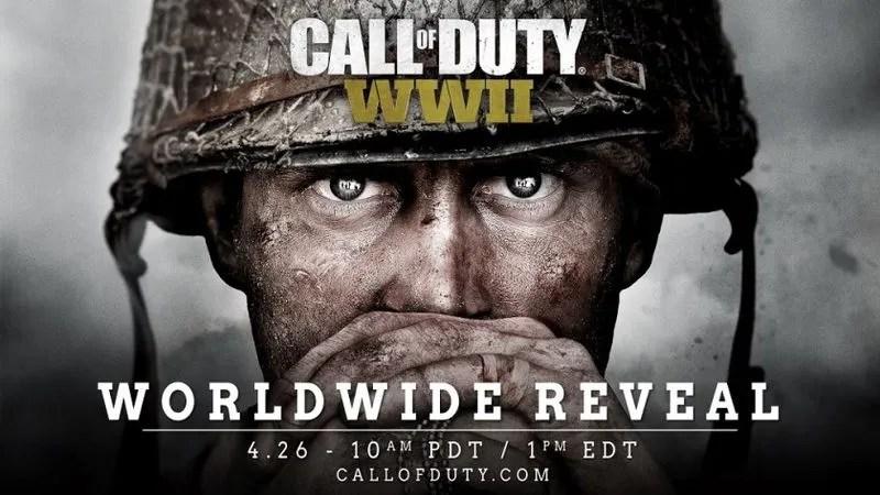 Call of Duty WWII: presentación mundial el 26 de abril
