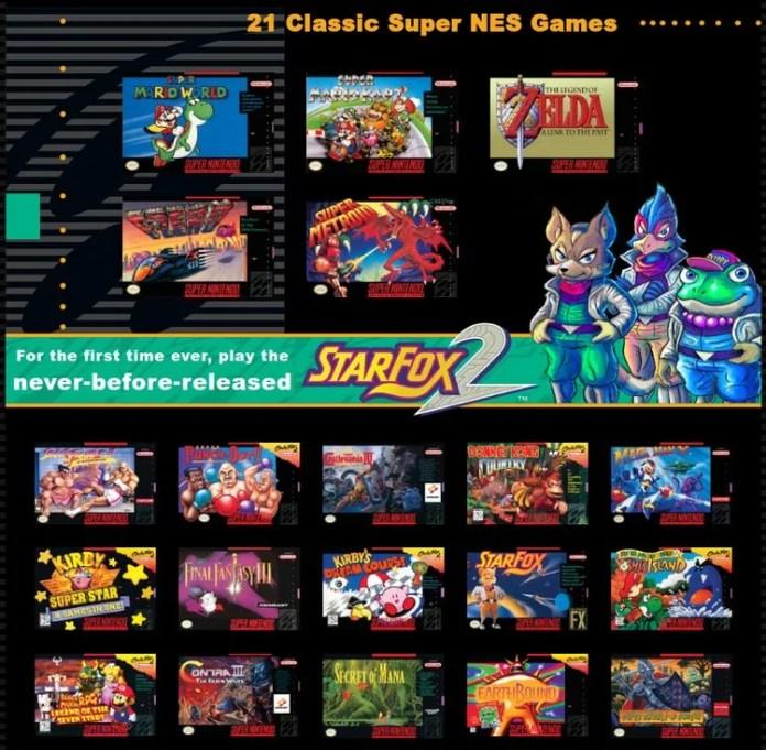 super-nintendo-mini-classic-games