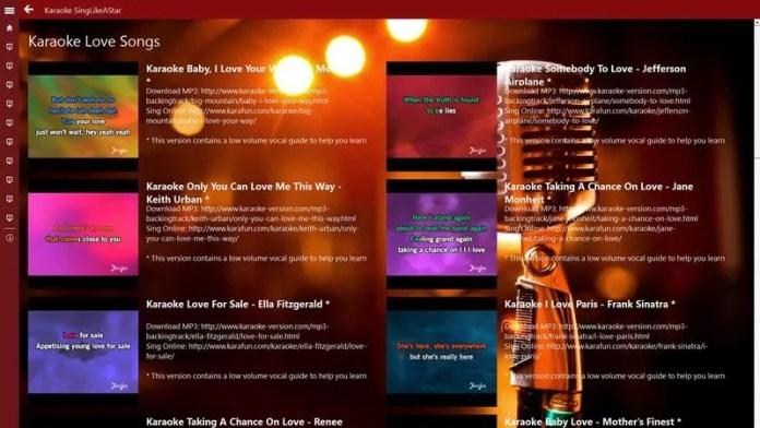 karaoke singlikeastar