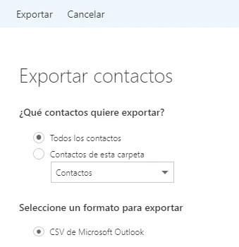 expotar-hotmail-csv