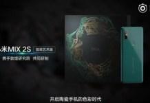 Mi Mix 2S Emerald Green