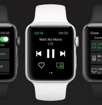 Apple Watch-Spotify