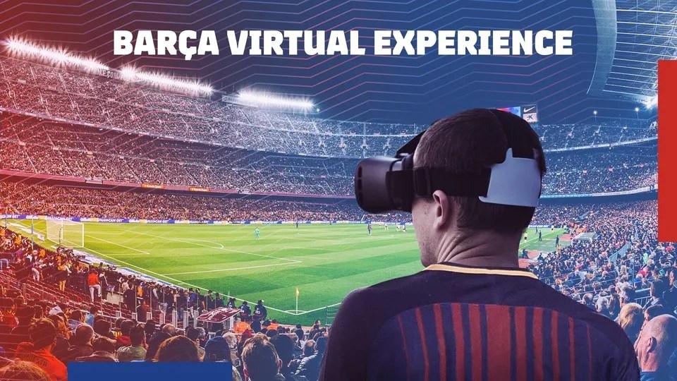 FC Barcelona Realidad Virtual