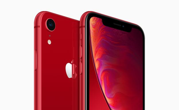 iPhone XR-rojo