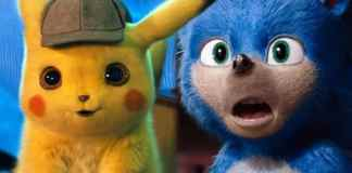 Pikachu y Sonic