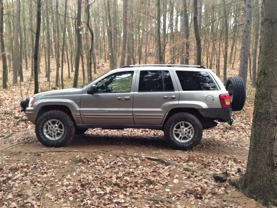 Jeep WJ profile