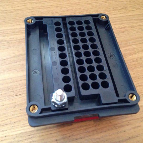 Backside of relay box