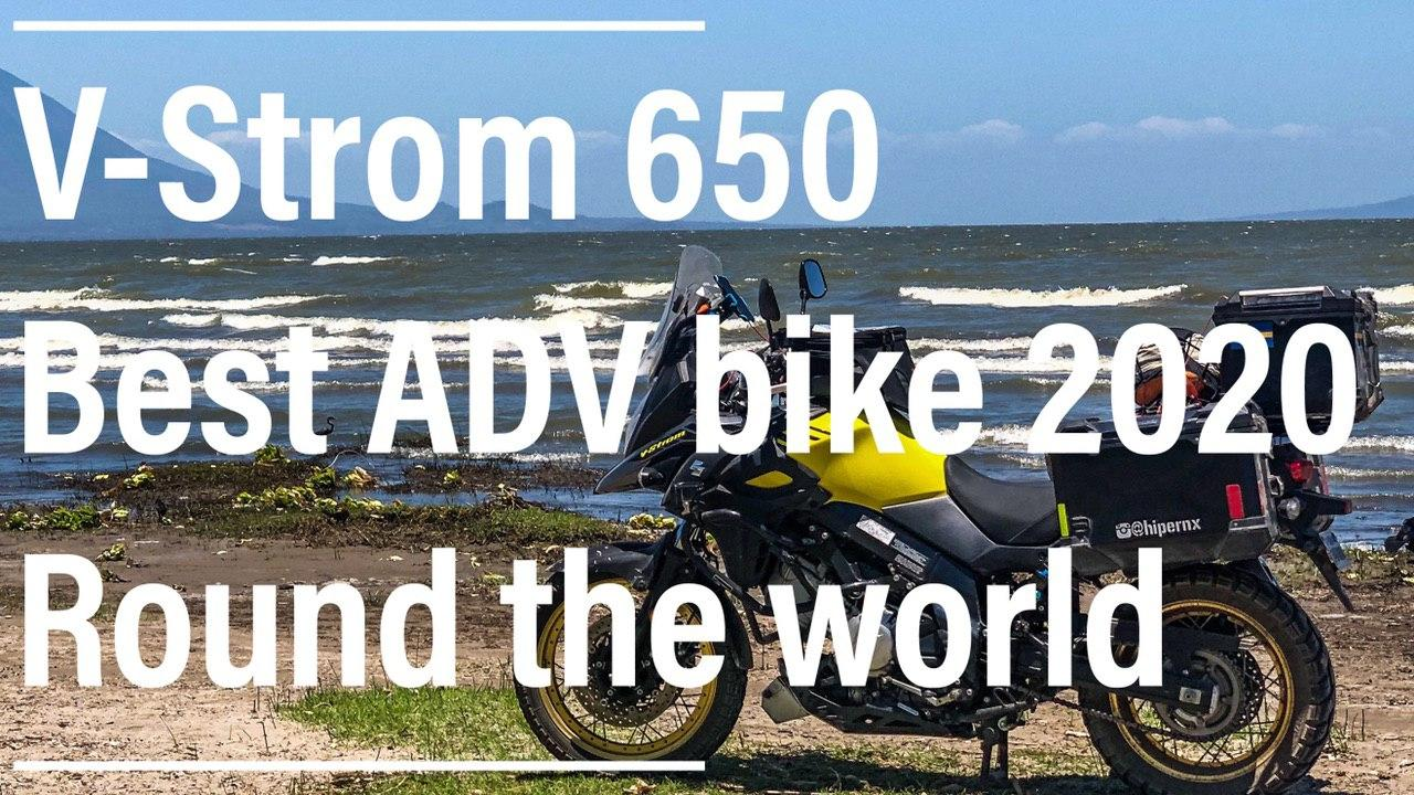 V-Strom 650 best adventure bike of 2020