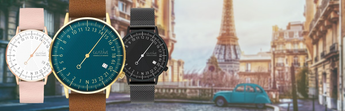, GUSTAVE & co - Watches and fashion accessories Made in France, GUSTAVE & co