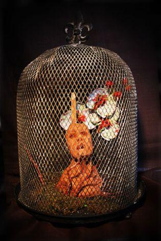 Escultura: Causalidad y Jaula { Mandamientos de Sangre } | por Gustavo A. Díaz G.