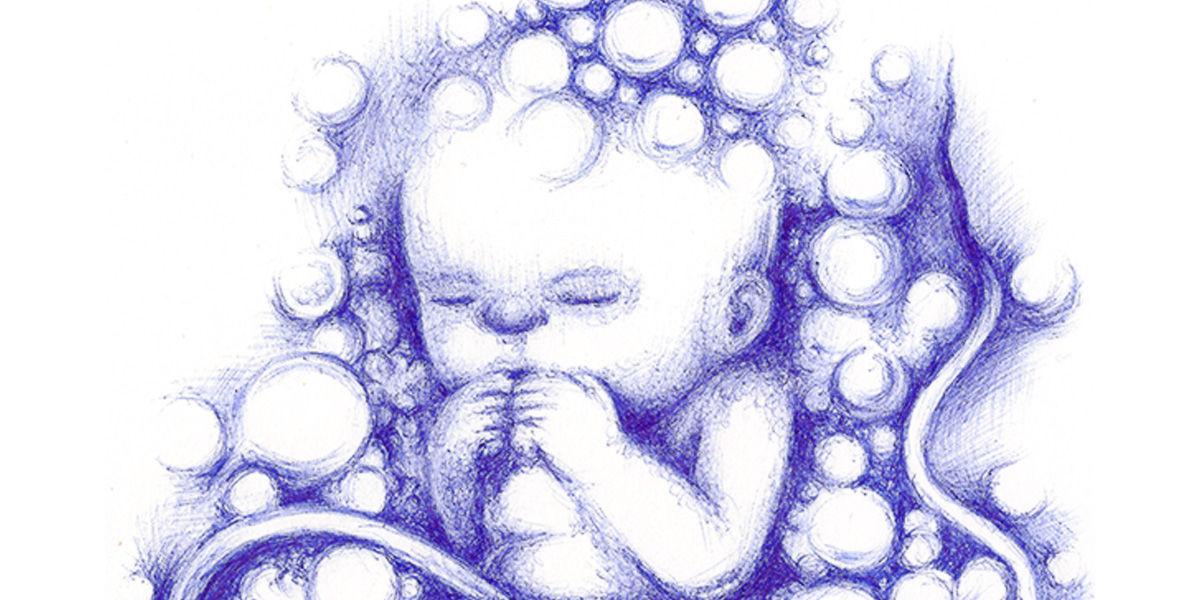 Dibujo: IlustraMáxima 2013. El Agua. Tales de Mileto (detalle/banner) | por Gustavo A. Díaz G.