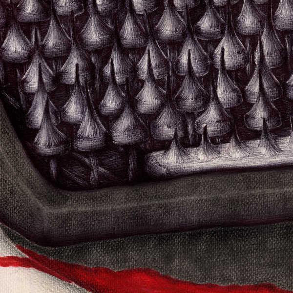 Dibujo: Agonía creativa (La Nada). detalle 3 | por: Gustavo Adolfo Diaz G.