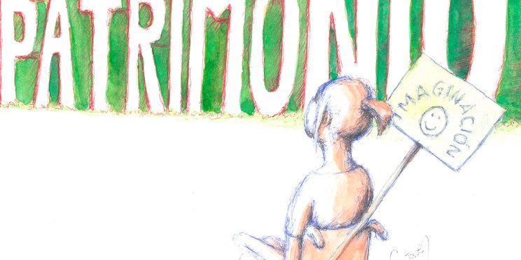 Ilustración: Patrimonio e imaginación. Museos.es (Nº 9-10) detalle banner | por: Gustavo Adolfo Diaz G.