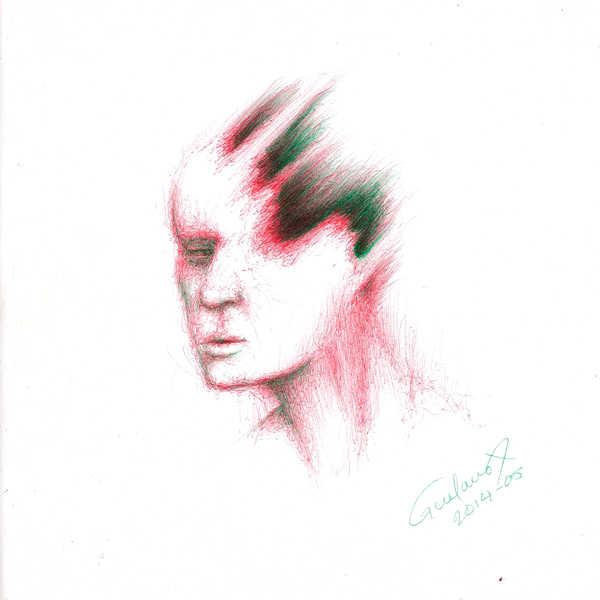 Dibujo: Rojo y verde; Negro 07