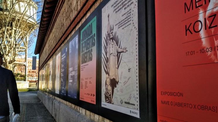 Foto del cartel in situ