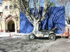 Filmacion en la vieja estacion de Avellaneda 09