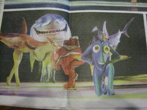 Holliday on Ice - Buscando a Nemo - Dory - Foto fallida suplemento Clarin 01