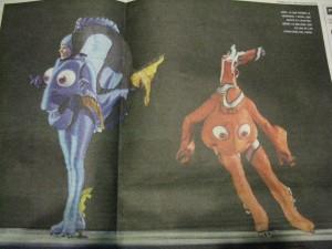 Holliday on Ice - Buscando a Nemo - Dory - Foto fallida suplemento Clarin 02