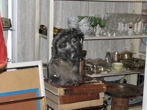 Ecce Homo en escultura - Feria de San Telmo - Buenos Aires