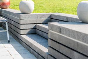 Escalier Exterieur Gustin Jardin Marche