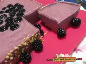 Cheesecake alle more di rovo