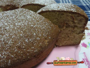 Chiffon cake melagrana senza olio