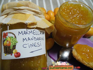Marmellata mandarini cinesi kumquat