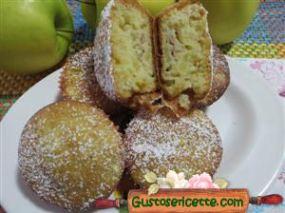 muffin soffici mele e mangostano