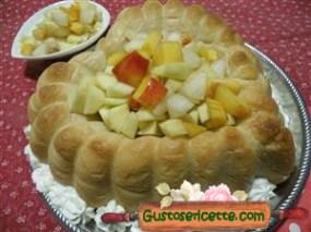 torta baba alla frutta