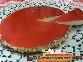 cheesecake alla melagrana