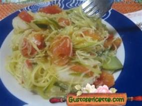 maccheroncini di campofilone zucchine topinambour