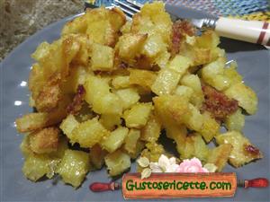 patate sabbiose alla farina di mais