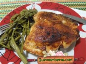 pollo alla paprika alla piastra