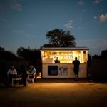 Strom aus dem Solar-Kiosk