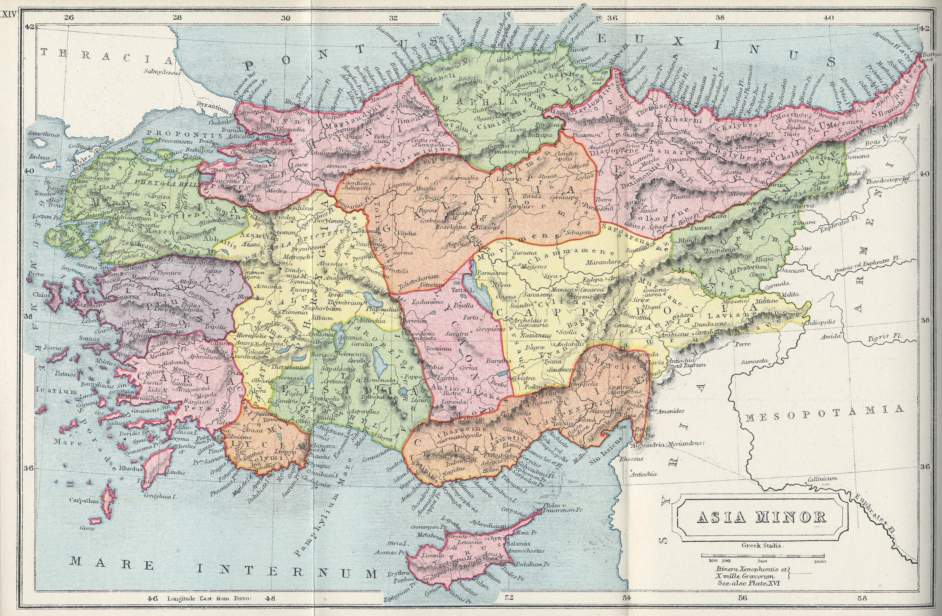 File Map Of Asia Minor Atlas Of Ancient And Classical