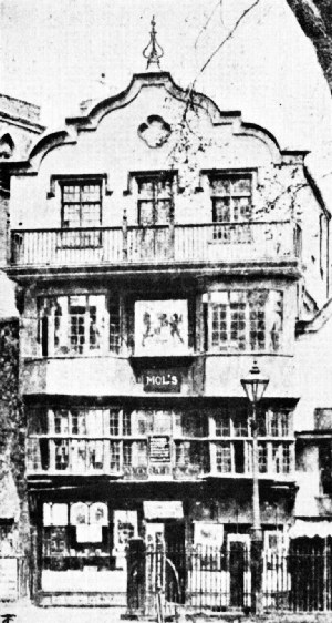 Mol's Coffee House, Exeter, England, Now Worth's Art Rooms