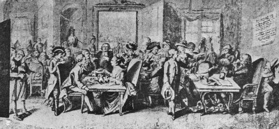 Coffee House in Germany—Middle of the Seventeenth Century