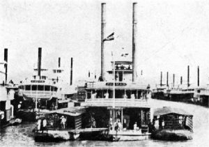 Coffee Steamers on the Magdalena, Colombia
