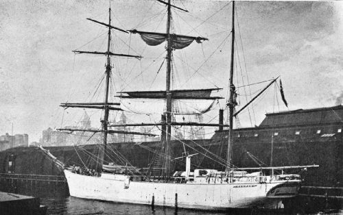Unloading Java Coffee from a Sailing Vessel at a Brooklyn Dock