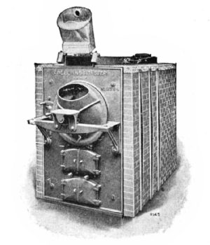 Burns Coal Roaster with Brickwork Setting